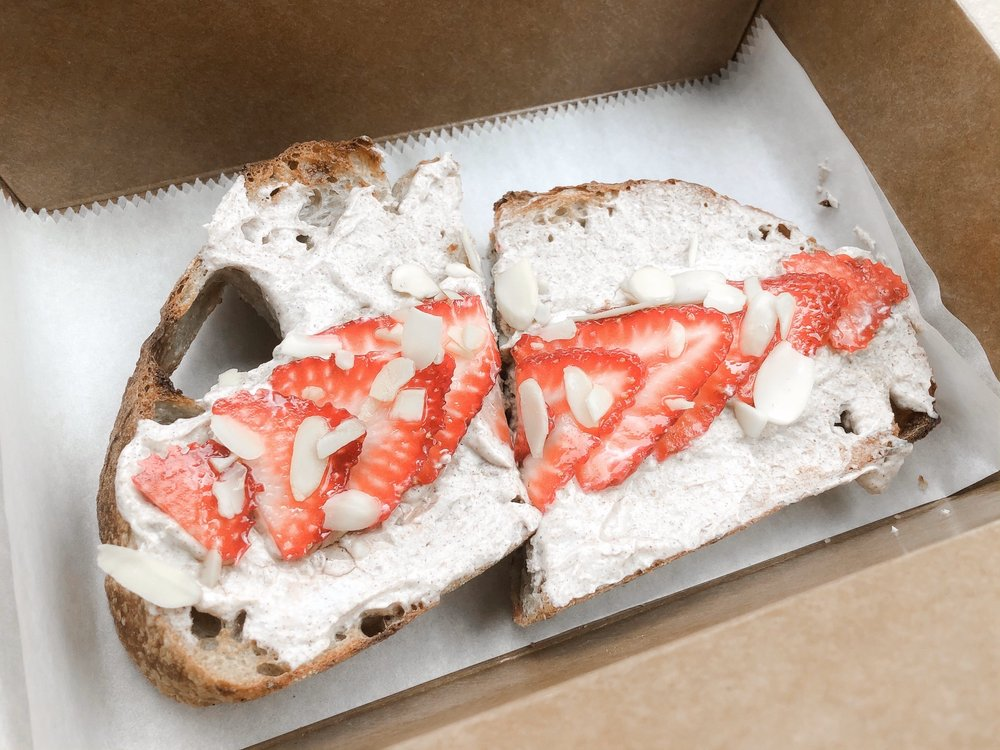 Food from Toasted by Buffalo Beauty Foodie