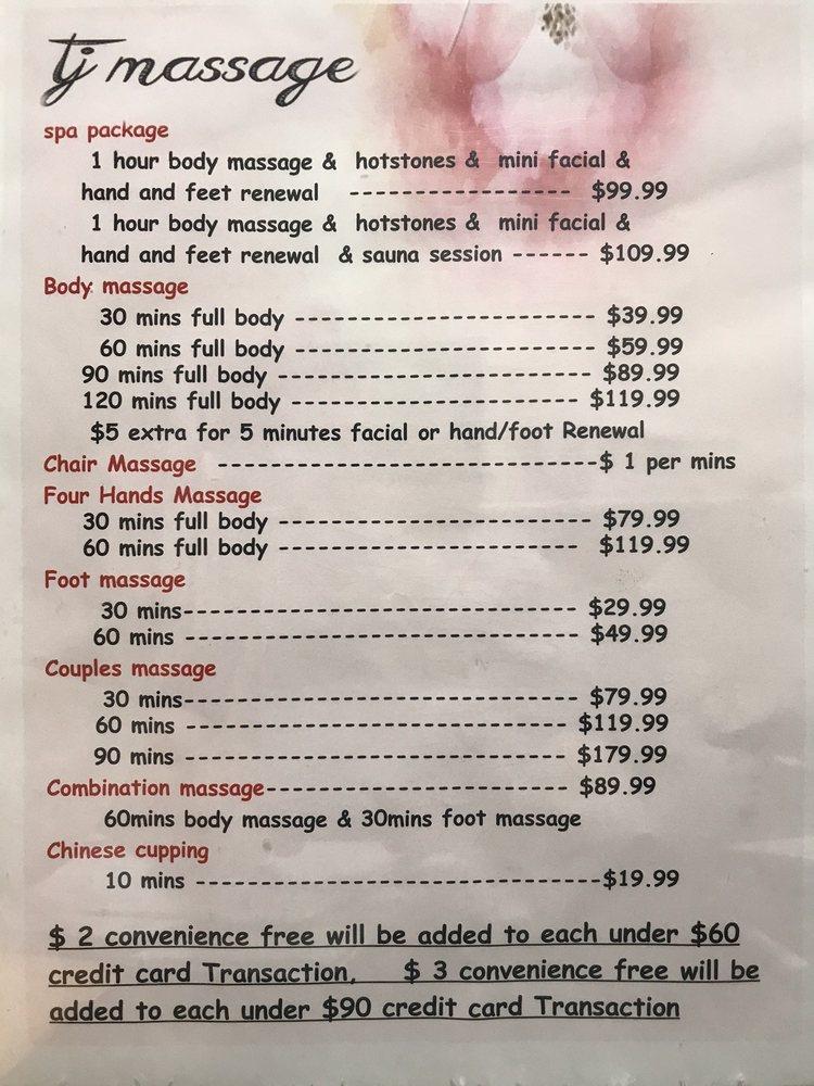 TJ Massage: 2748 Bartlett Blvd, Bartlett, TN