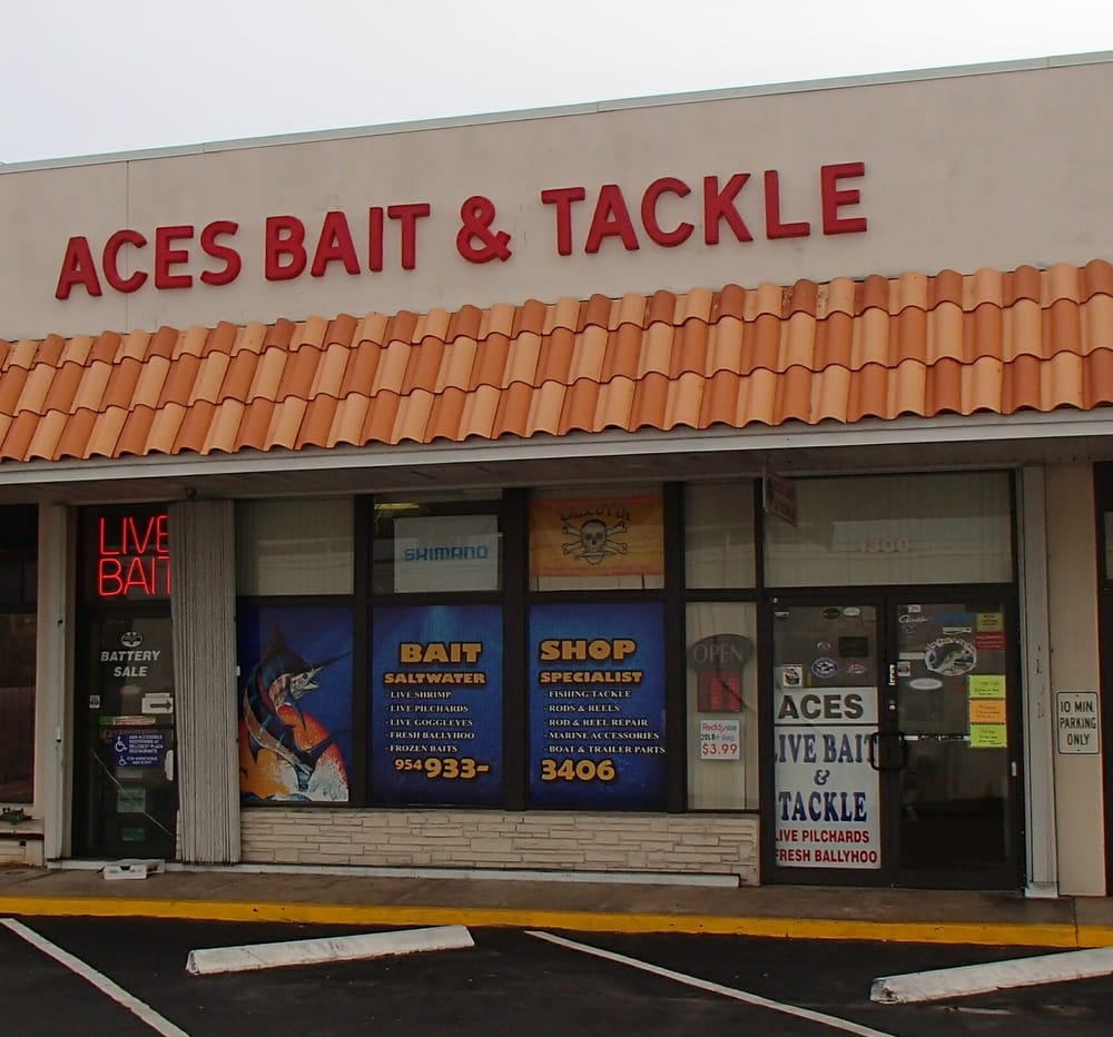 Ace's Bait & Tackle - Outdoor Gear - 1300 N Federal Hwy