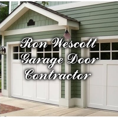 garage door contractorRon Wescott Garage Door Contractor  Garage Door Services  Weare