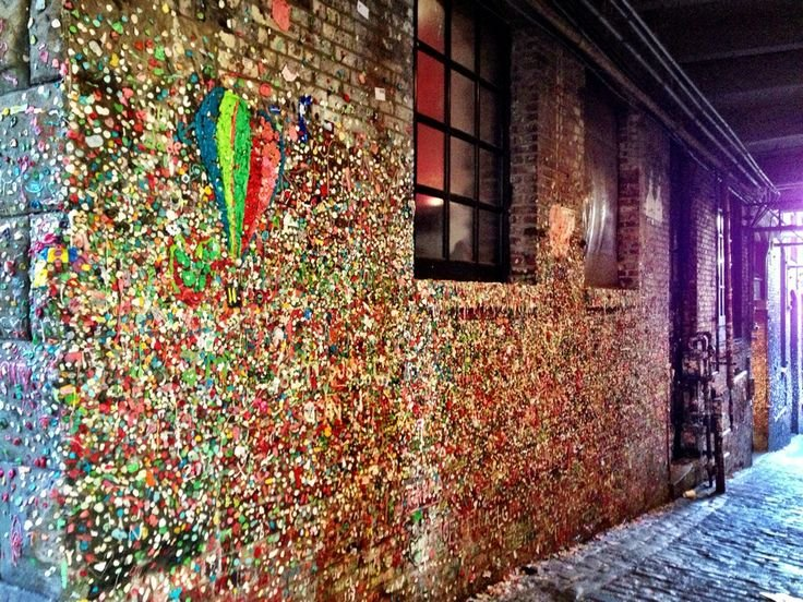ABC Gum Wall of Patchogue: 71 E Main St, Patchogue, NY