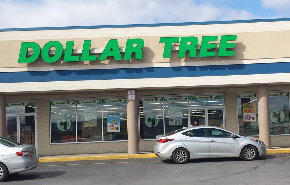 Dollar Tree Stores: 37 W Side Mall, Kingston, PA