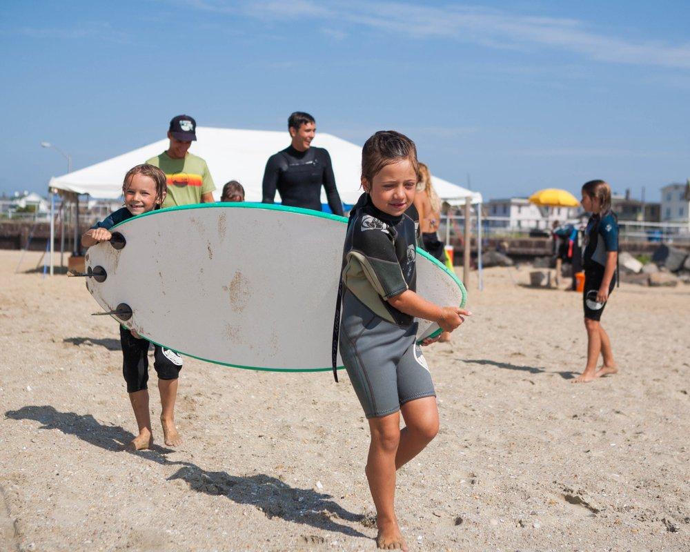 Summertime Surf School - Bradley Beach: Bradley Beach, NJ