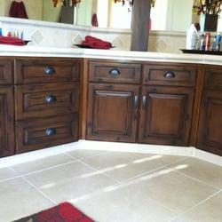 Photo Of Rogeru0027s Painting U0026 Finishes   Fresno, CA, United States. Oak  Cabinets ...
