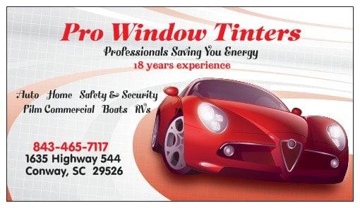 Pro Window Tinters