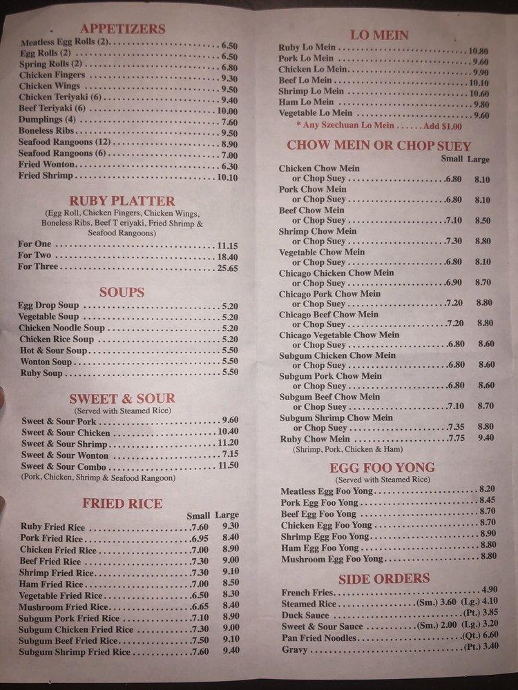 Ruby Food: 160 Main St, Bridgton, ME