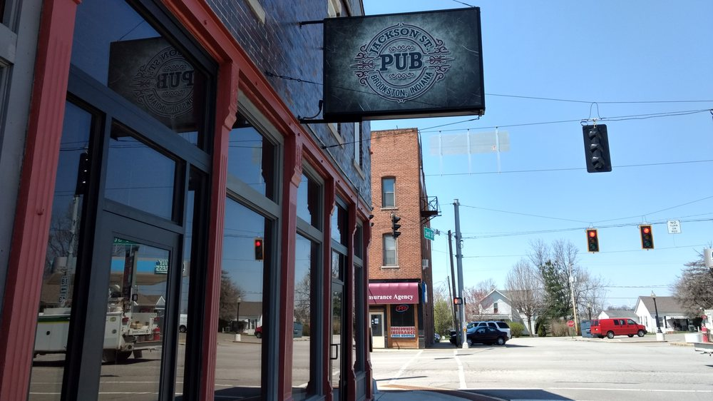 Jackson St. Pub: 121 W 3rd St, Brookston, IN
