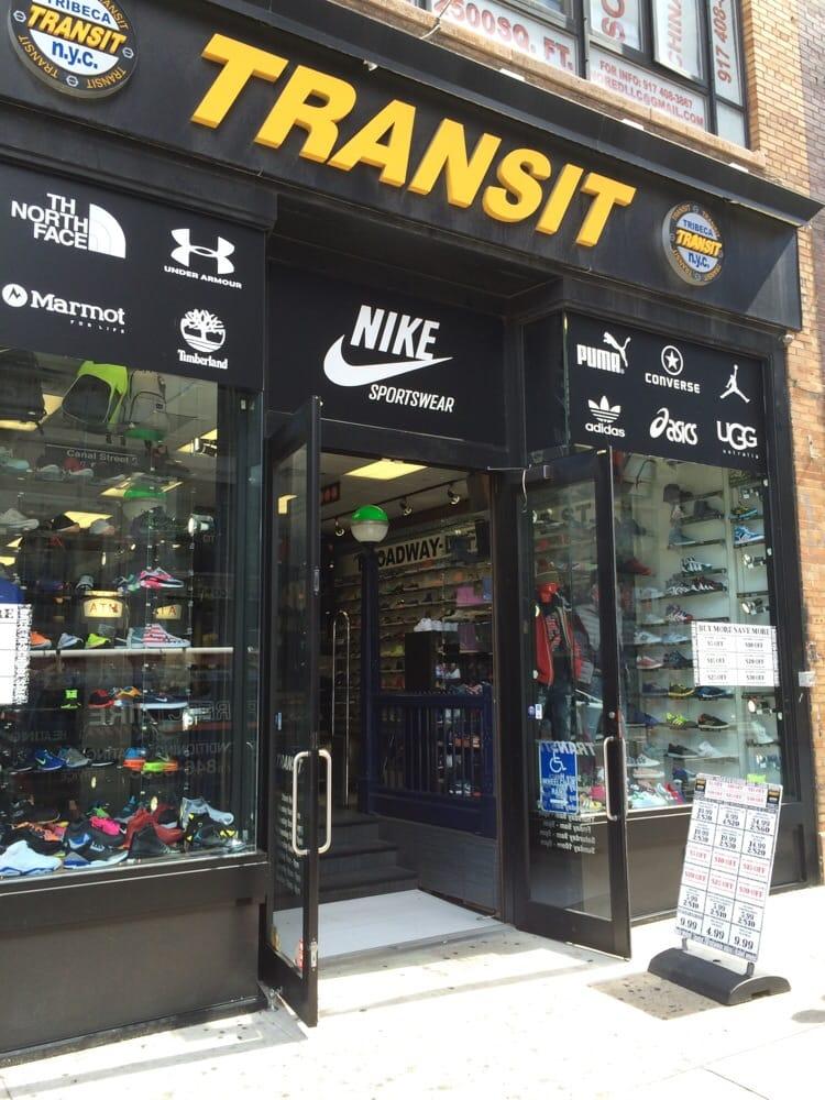 Transit Shoe Stores 406 Broadway Chinatown New York