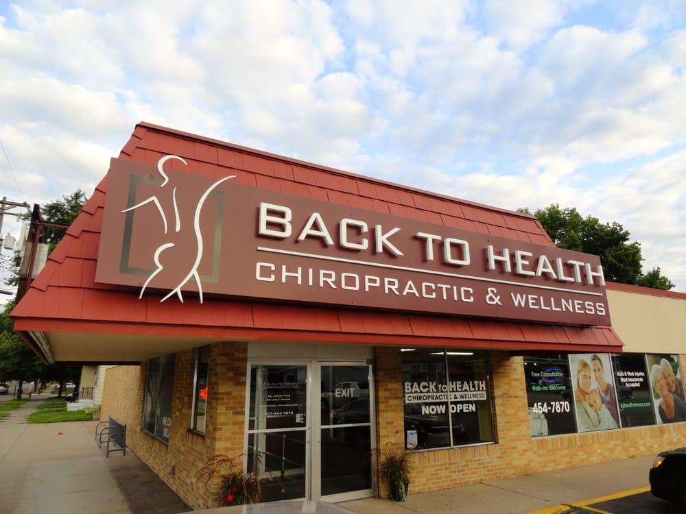 Back to Health Chiropractic & Wellness: 619 Huff S, Winona, MN