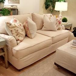 Elegant Photo Of Quatrine Custom Furniture   Birmingham, MI, United States.  Slipcovered Milan Sofa