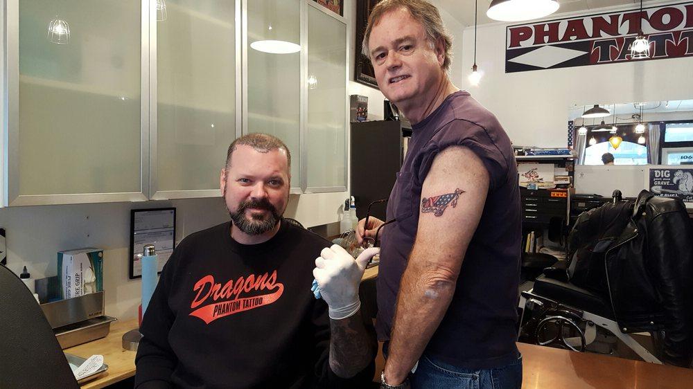 Phantom Tattoo: 106B N Tower Ave, Centralia, WA