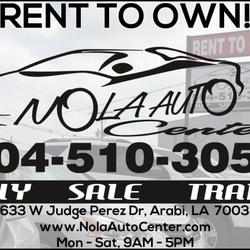 Rent To Own Auto Center >> Nola Auto Center 12 Photos Used Car Dealers 7633 W Judge Perez