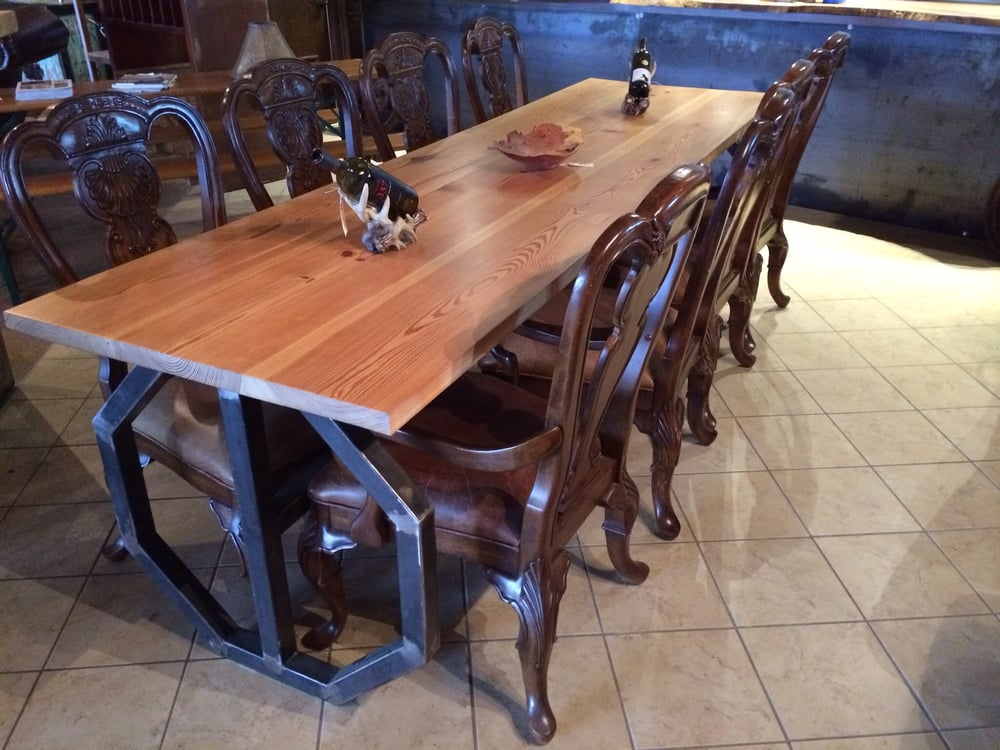 Best handmade dining room tables images home design for Dining room tables handmade