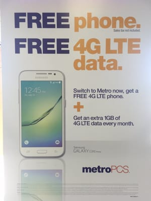 What Free Phones Do Metropcs Have