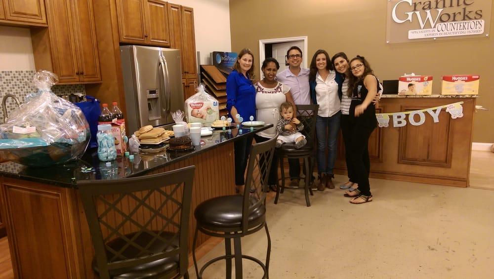 Members Of Gw Team Celebrating Tina S Little Boy Yelp