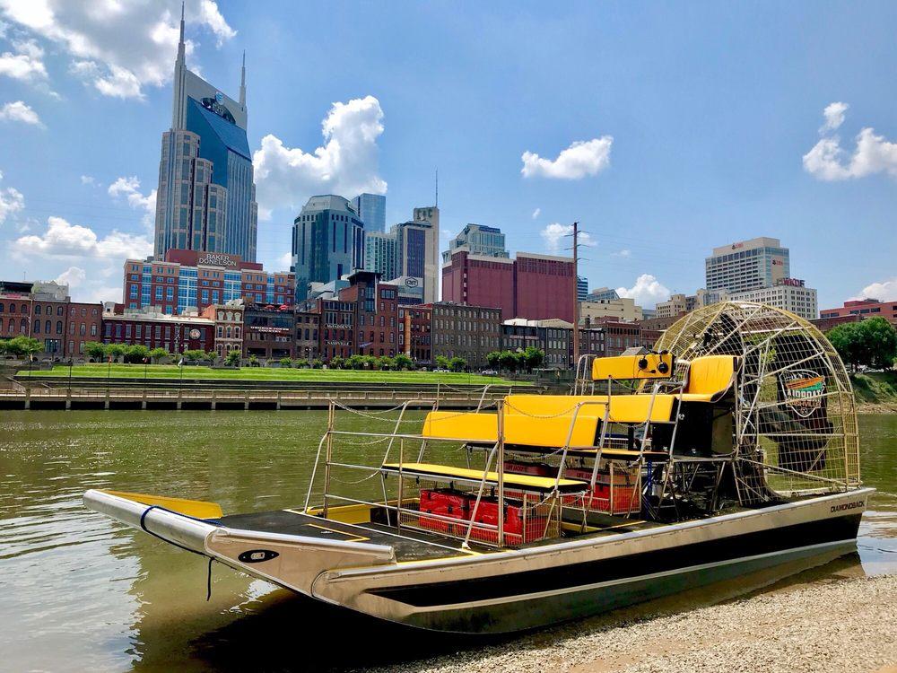 Airboat Nashville: 2 Victory Ave, Nashville, TN