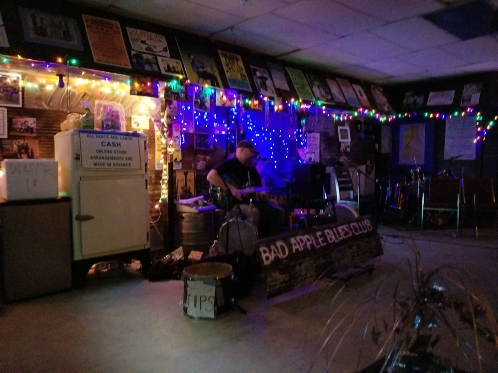 Bad Apple Blues Club: 349 Issaquena Ave, Clarksdale, MS
