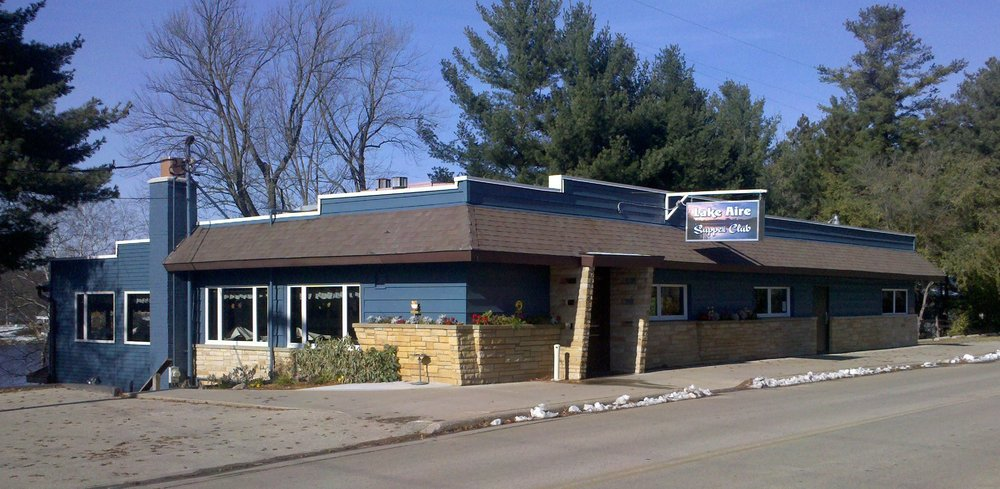 Lake Aire Supper Club: N2815 County Rd Y, Clintonville, WI