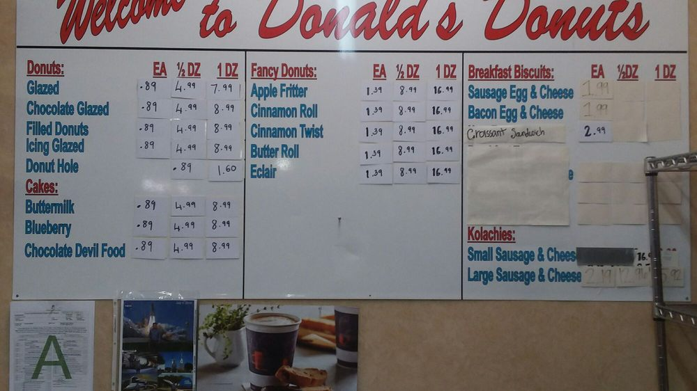 Donald's Donuts: 146 Highway 6 W, Batesville, MS
