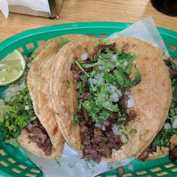 Photo Of Veracruz Restaurant Bloomington Il United States Steak Tacos Yum