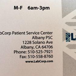 LabCorp - Laboratory Testing - 1233 Solano Ave, Albany, CA