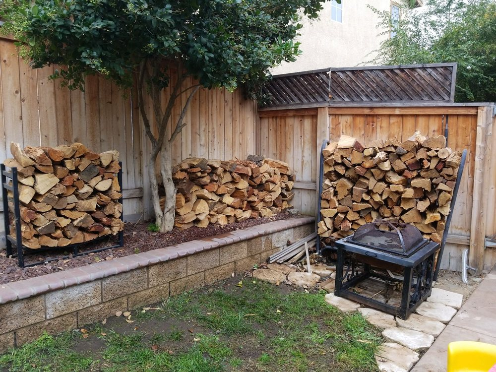 Firewood Free Delivery: Riverside, CA