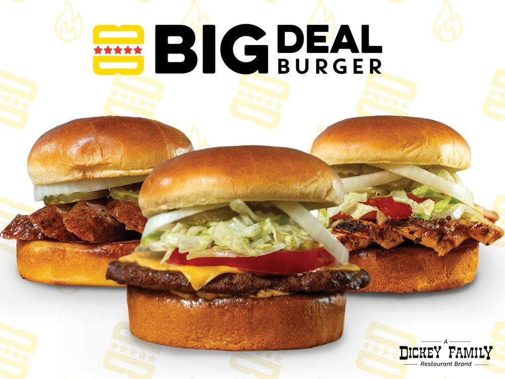 Big Deal Burger: 101 S. Third Street, Mabank, TX