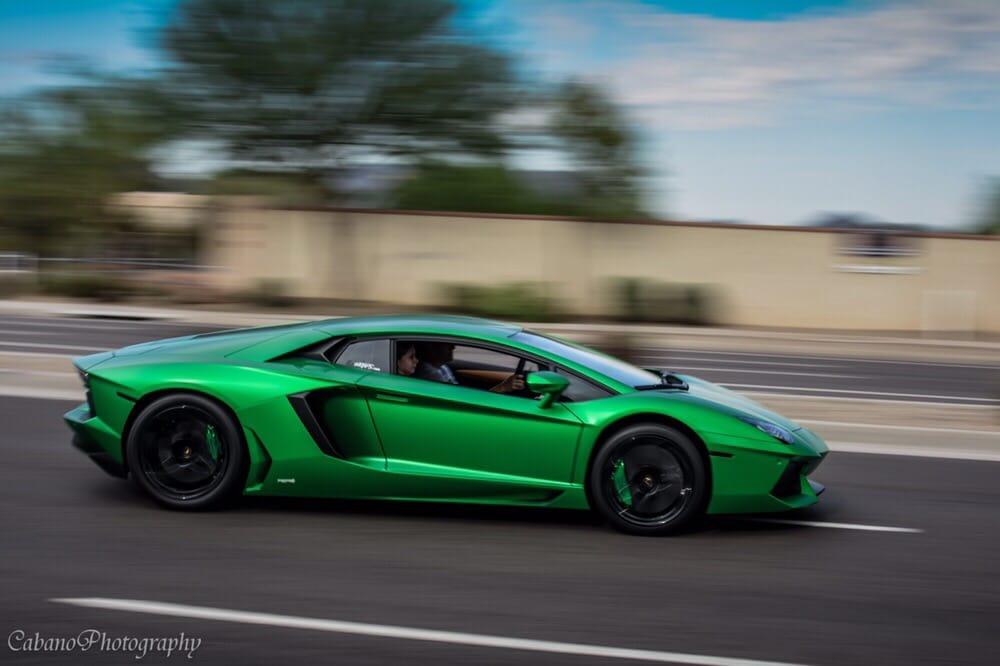 Lamborghini Aventador In 3m Satin Sheer Luck By Echelon Autosports Yelp