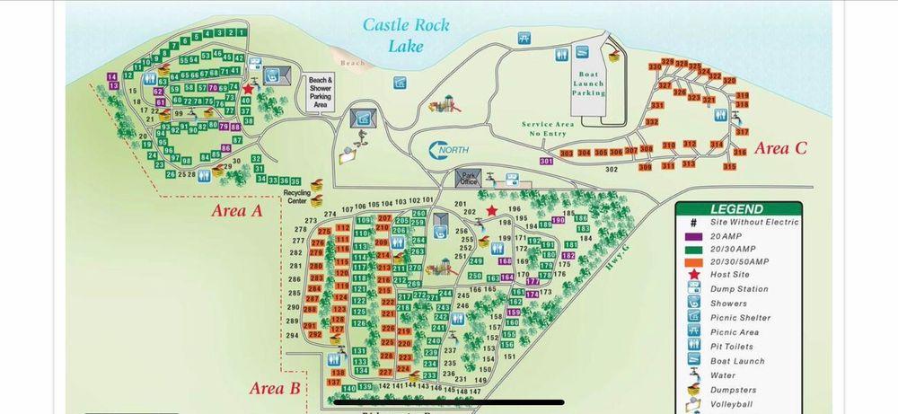 Castle Rock Park: Highway G, Mauston, WI