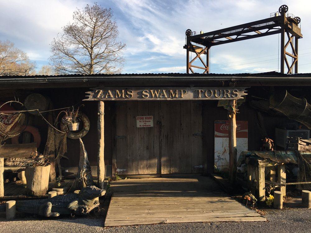 Zam's Swamp Tour: 136 Kraemer Bayou Rd, Kraemer, LA