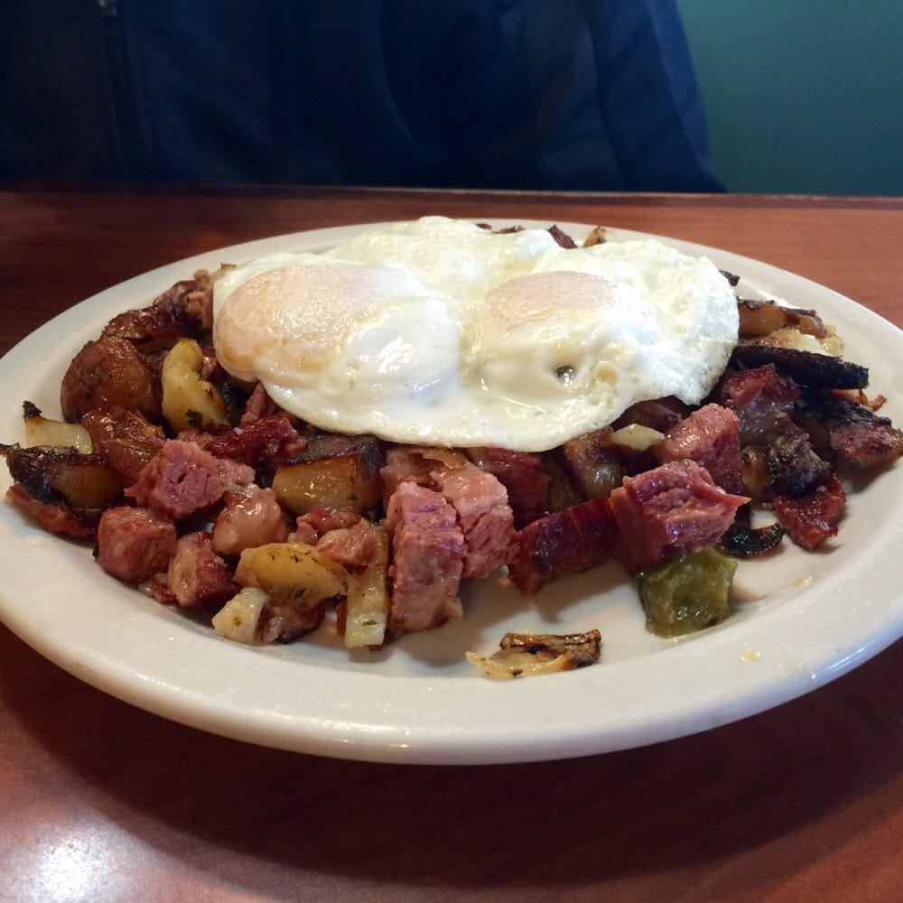 Cornbeef Hash. Look At Those Juicy Chunks Of Meat. Ohh So