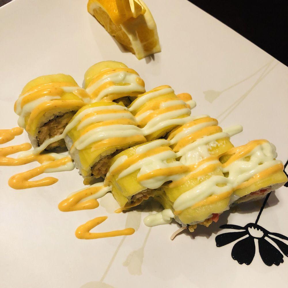 Food from Yamato Japanese Steak House