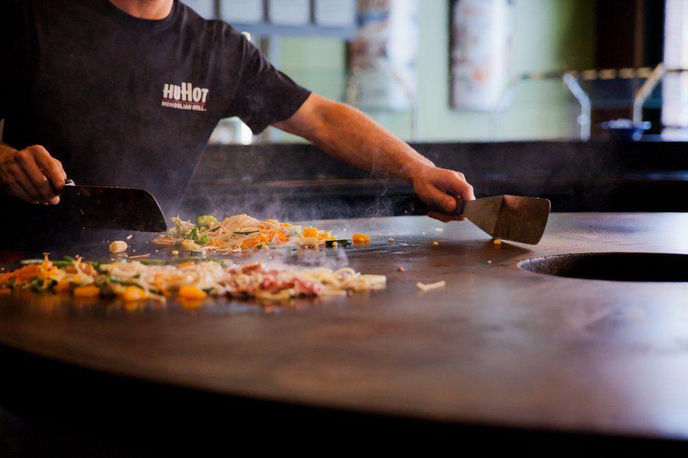 HuHot Mongolian Grill: 201 N 66th St, Lincoln, NE
