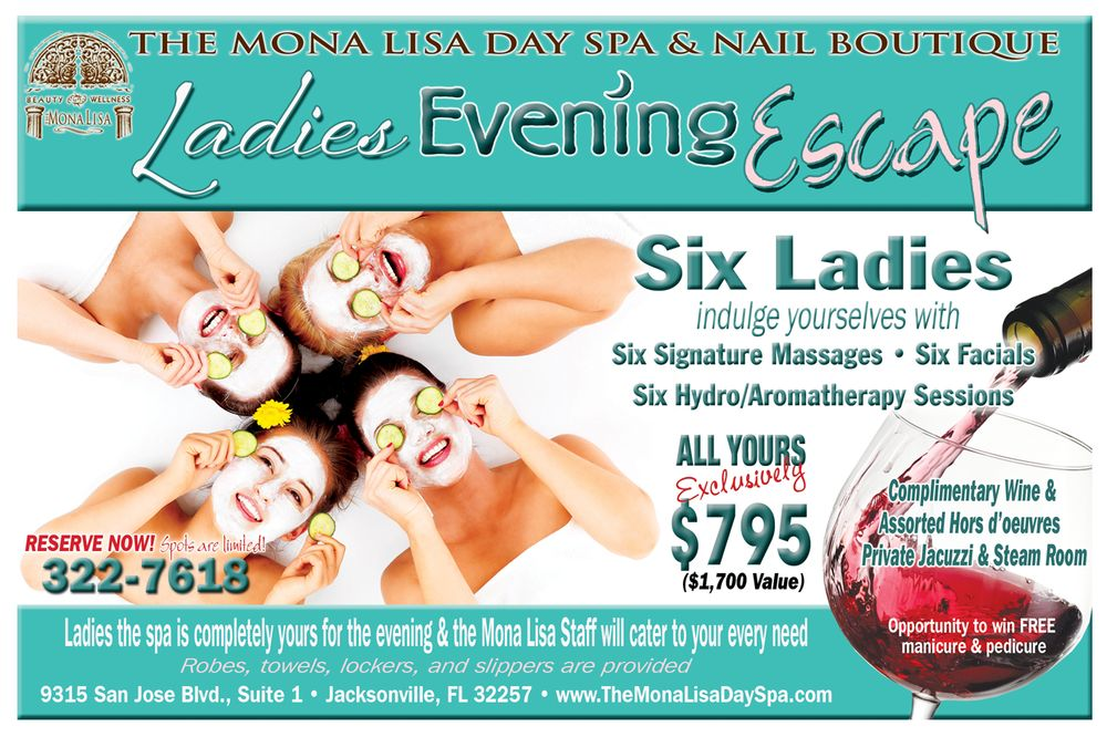The Mona Lisa Day Spa & Nail Boutique