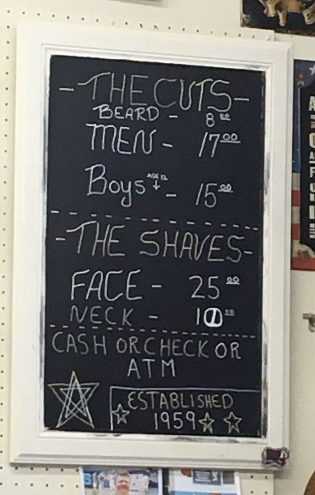 Town & Country Barber Shop: 1819 S Washington St, Grand Forks, ND