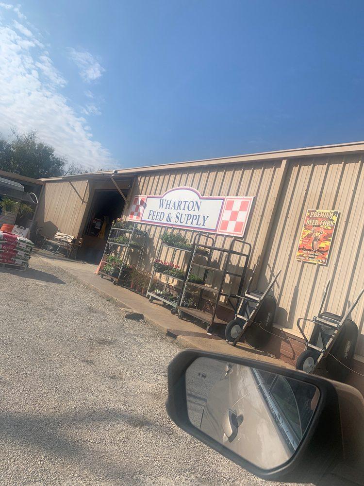 Wharton Feed & Supply: 1105 N Fulton St, Wharton, TX