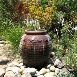 Photo Of Garden Spirit Landscape   Encinitas, CA, United States. Bubbling  Pot