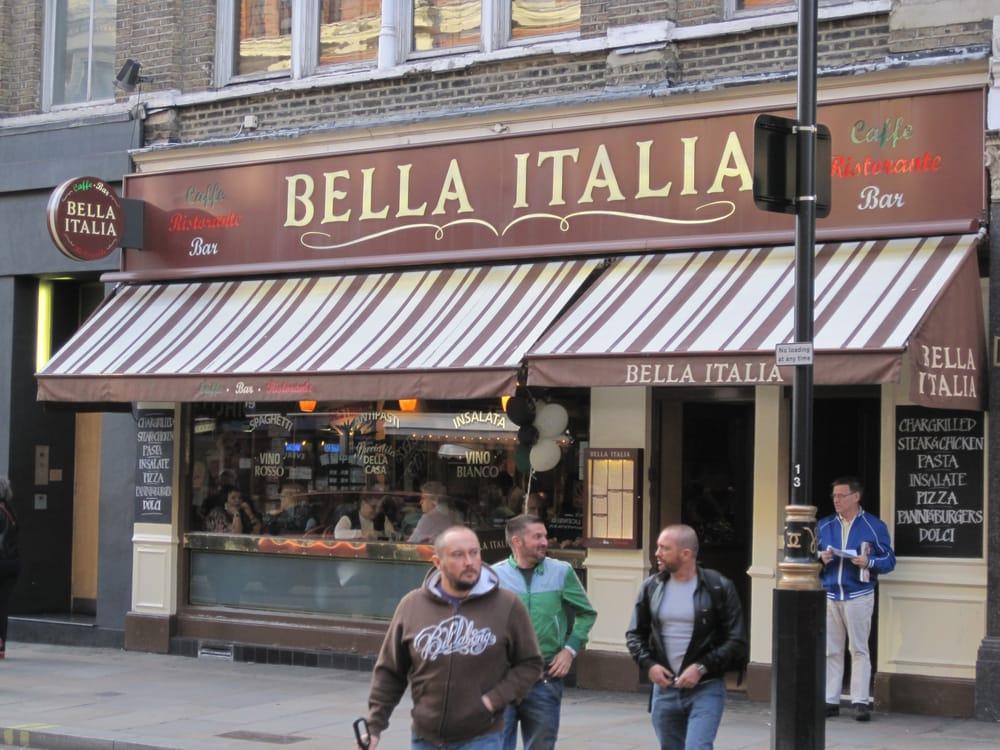 Italian Restaurants Near Shaftesbury Avenue London