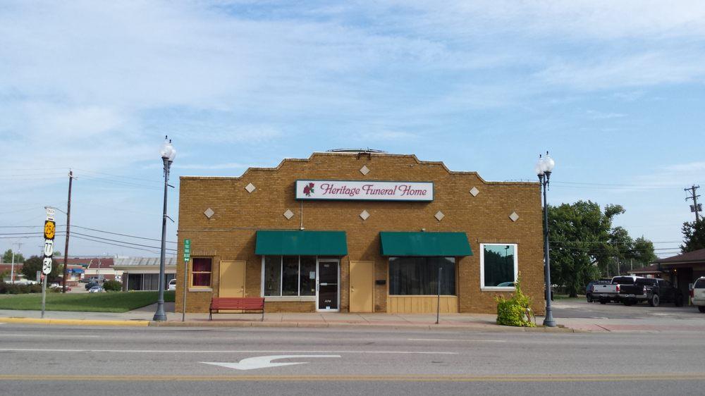 Heritage Funeral Home: 206 E Central Ave, El Dorado, KS