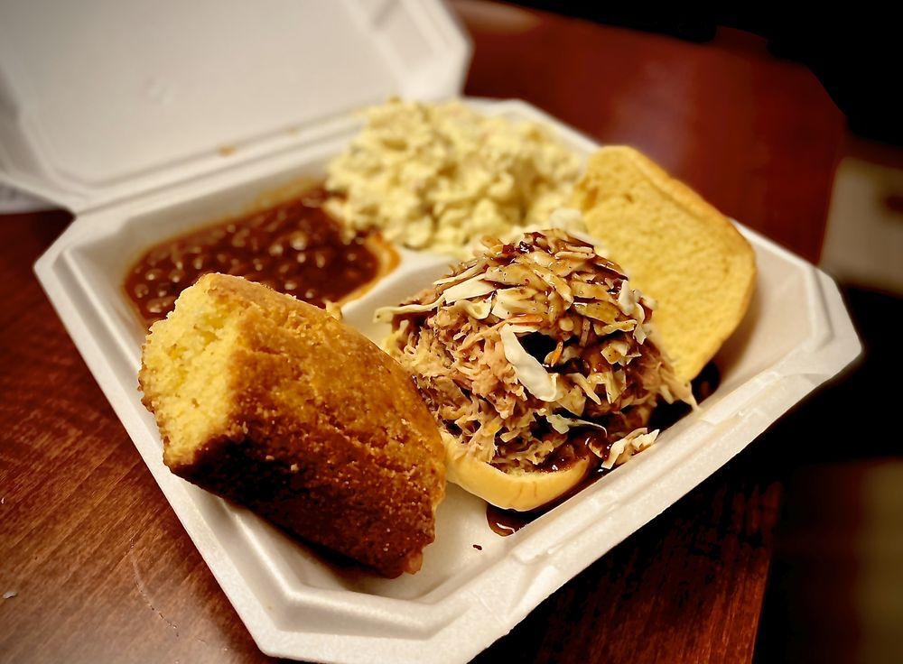 Carolina Brothers Pit Barbeque: 20702 Ashburn Rd, Ashburn, VA