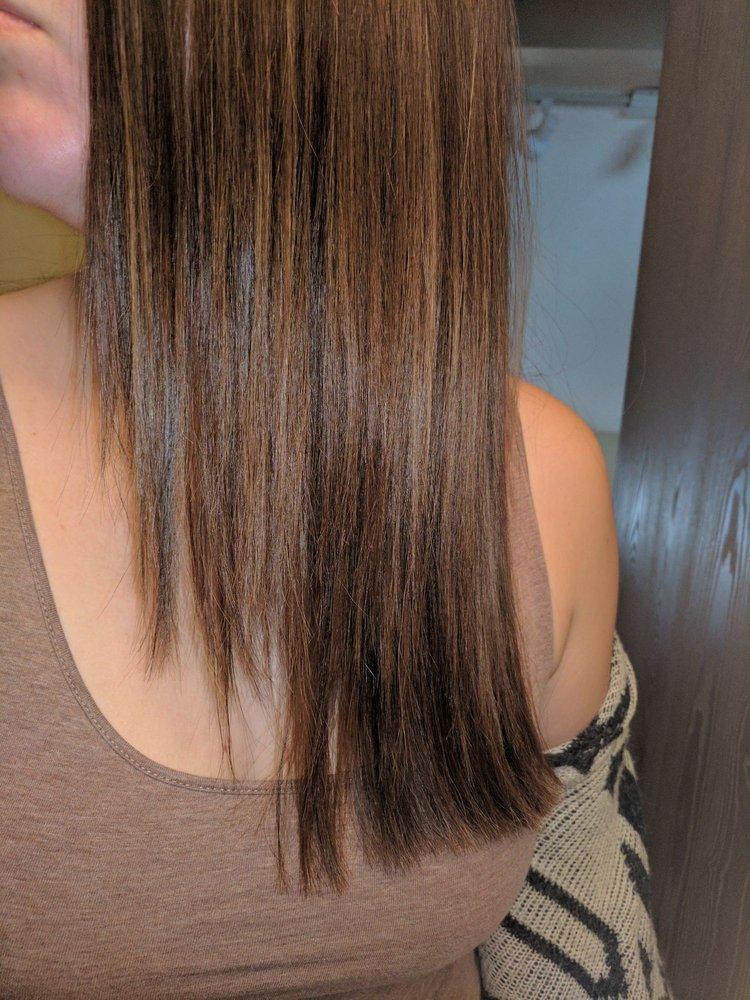 Haircut On April 7th With Megan Estrada My Hair Looks Choppy And