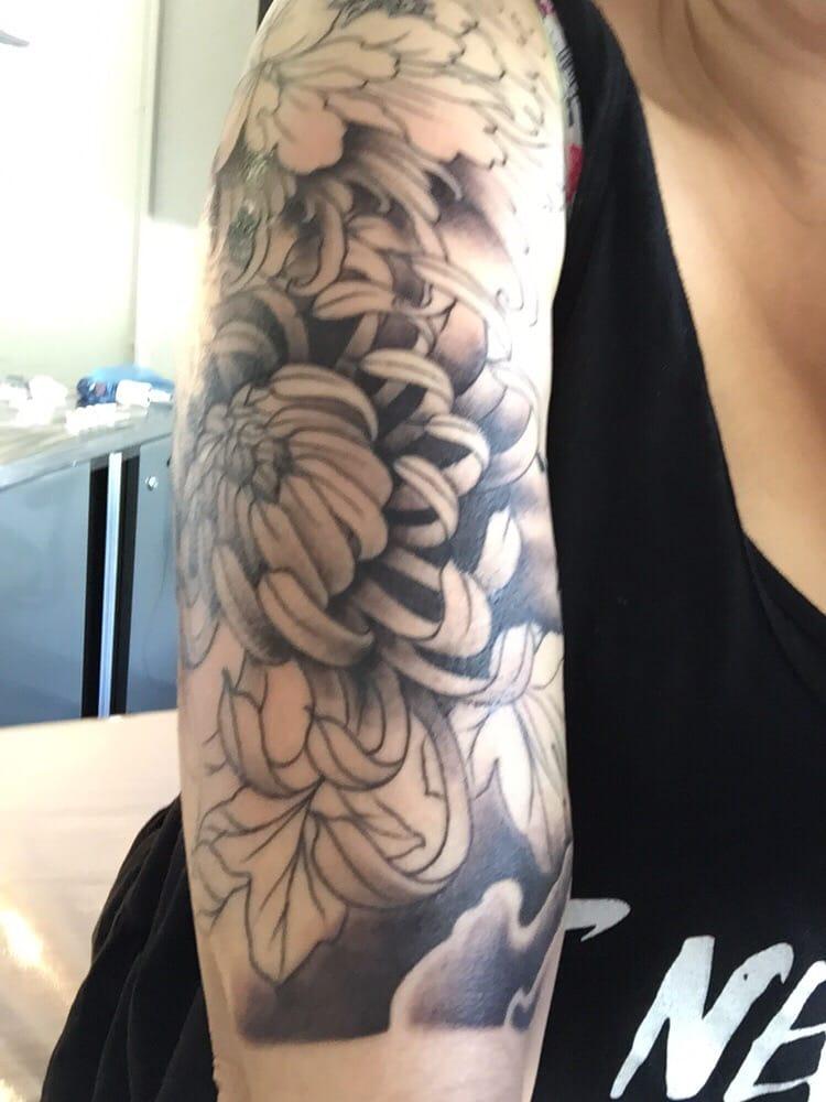 07b436e1d4ea9 My second tattoo from Viet half sleeve (still working on it) love it ...