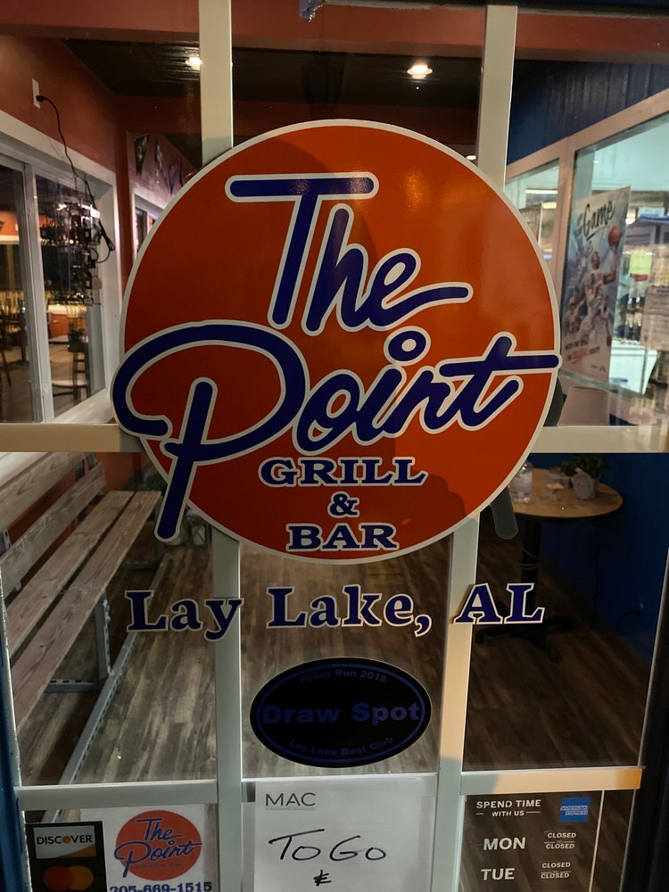 The Point Grill & Bar: 231 Paradise Point Dr, Columbiana, AL