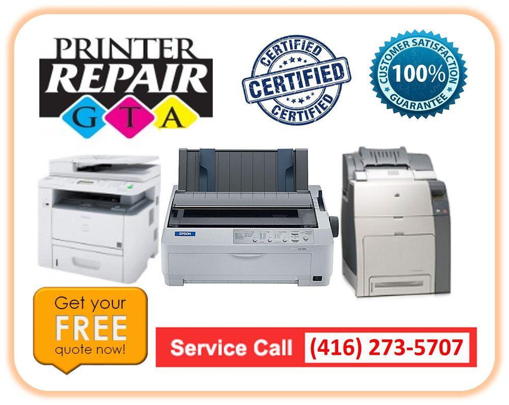 Photo of Printer Repair GTA - Mississauga, ON, Canada. Instant Dot-matrix