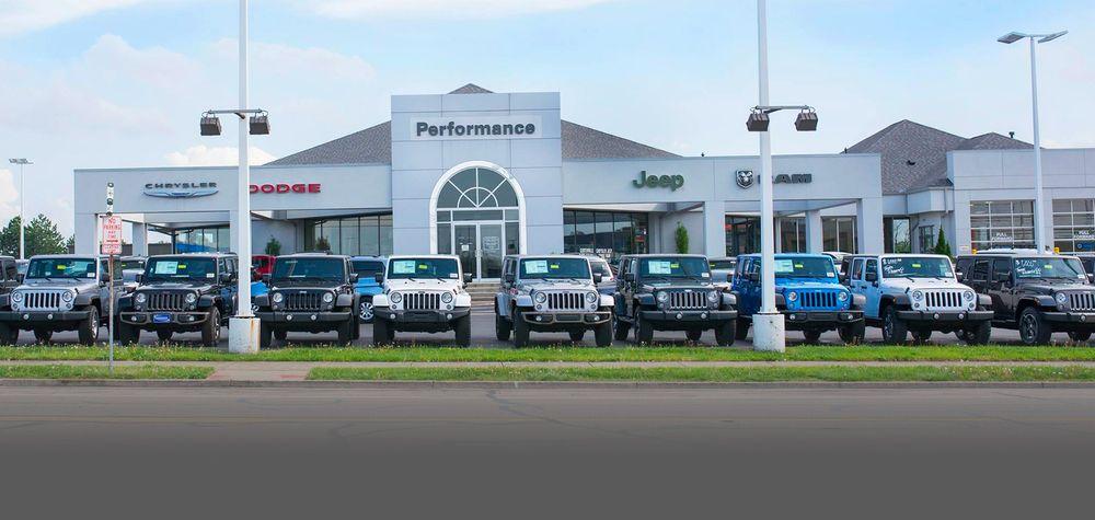 Performance Chrysler Jeep Dodge Ram Centerville