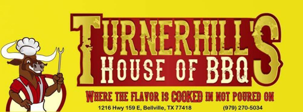 Turnerhill's House of BBQ: 1216 Hwy 159 E, Bellville, TX