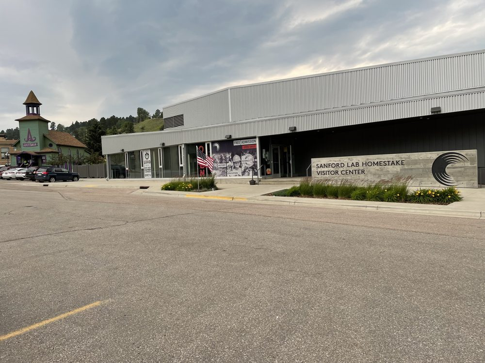 Sanford Lab Homestake Visitor Center: 160 West Main St, Lead, SD