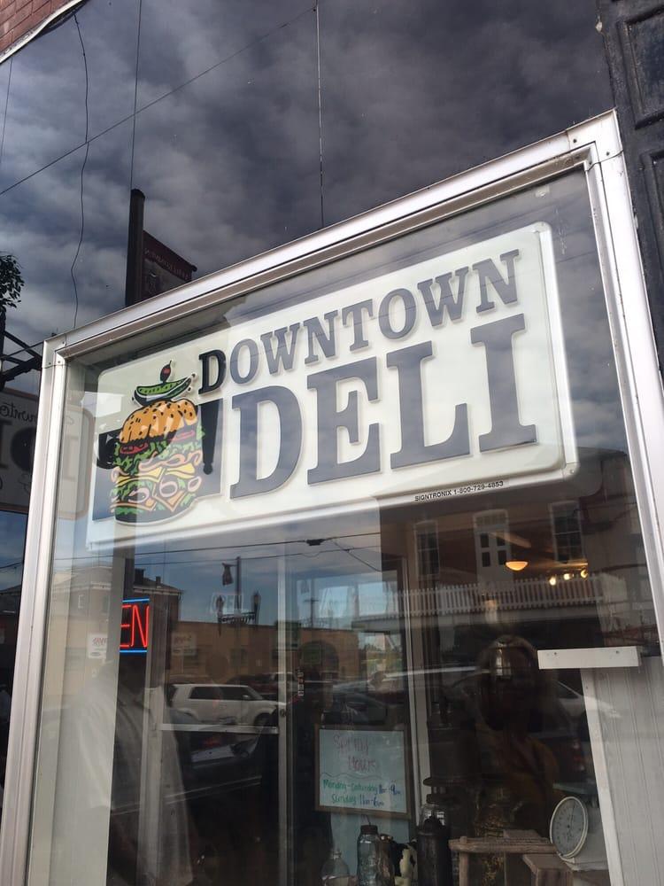 Downtown Deli & Custard Shoppe: 201 E 1st St, Hermann, MO