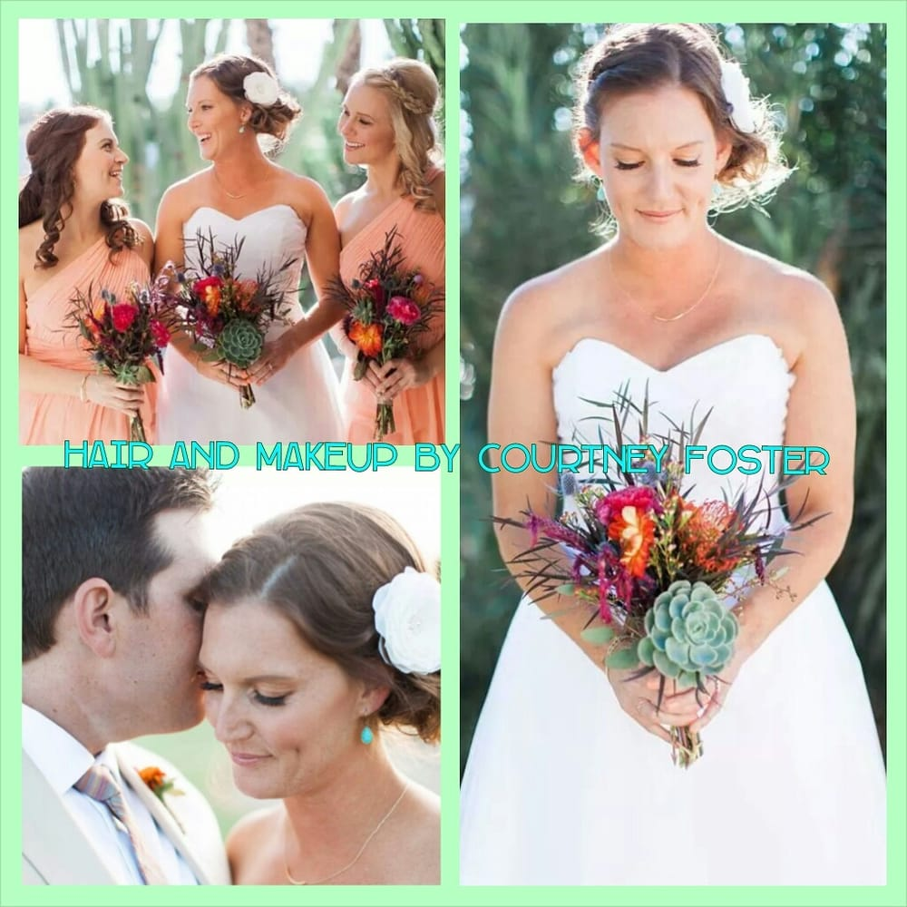 Wedding hair and makeup by Courtney Foster  - Yelp