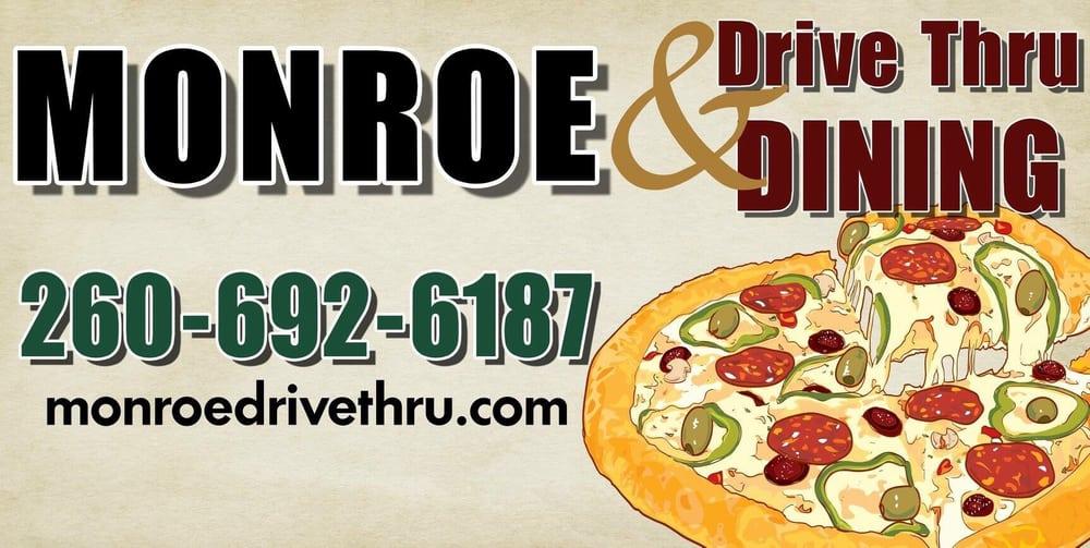 Monroe Drive Thru & Dining: 134 E Jackson St, Monroe, IN